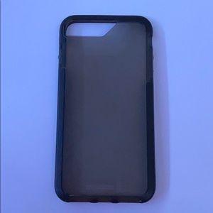 Black Transparent iPhone Case